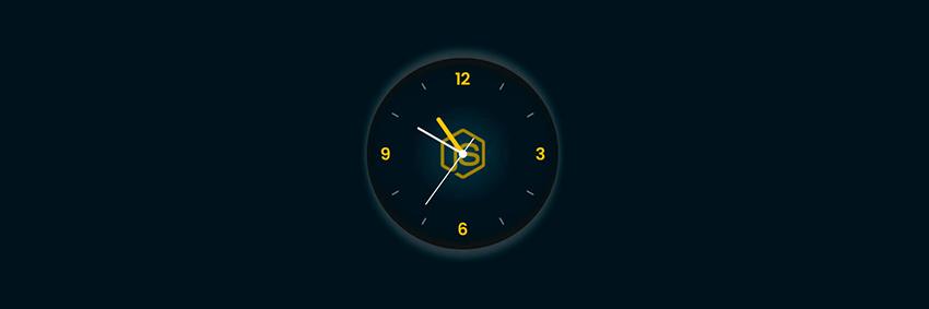 Аналоговые часы на JavaScript