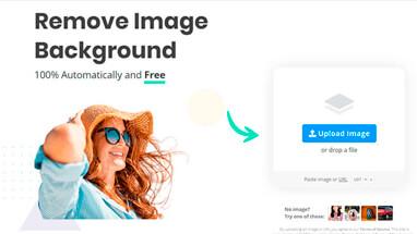 Как удалить фон на картинки или фото онлайн.